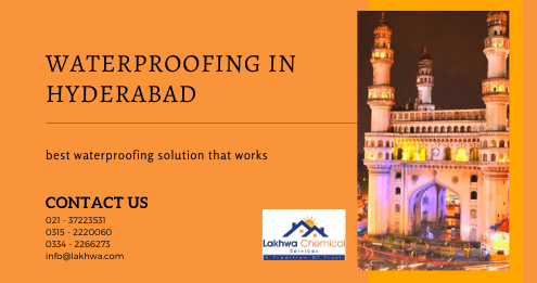 Waterproofing in Hyderabad | leakage and seepage service | lakhwa chemical services | lcs waterproofing solution