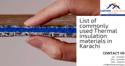 thermal insulation material in karachi, thermal insulation material in pakistan, heat proofing products in karachi | lcs waterproofing solutions
