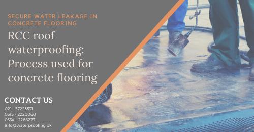 RCC roof waterproofing | roof waterproofing in karachi | waterproofing in Pakistan | lcs waterproofing solutions