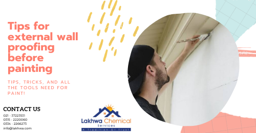 External wall proofing | External wall proofing in pakistan | External wall proofing in karachi | lcs waterproofing solutions