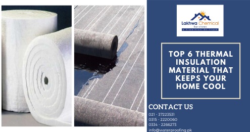 Thermal insulation Karachi | heat proofing service | Lakhwa Chemical Service