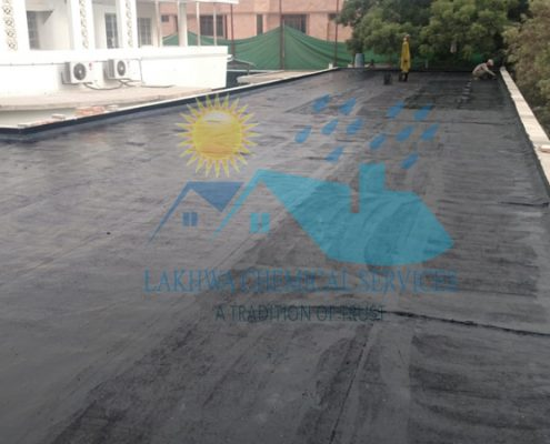 hot bitumen coating | LCS Waterproofing Solutions | lakhwa chemical services