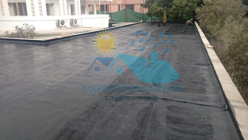 hot bitumen coating   LCS Waterproofing Solutions   lakhwa chemical services