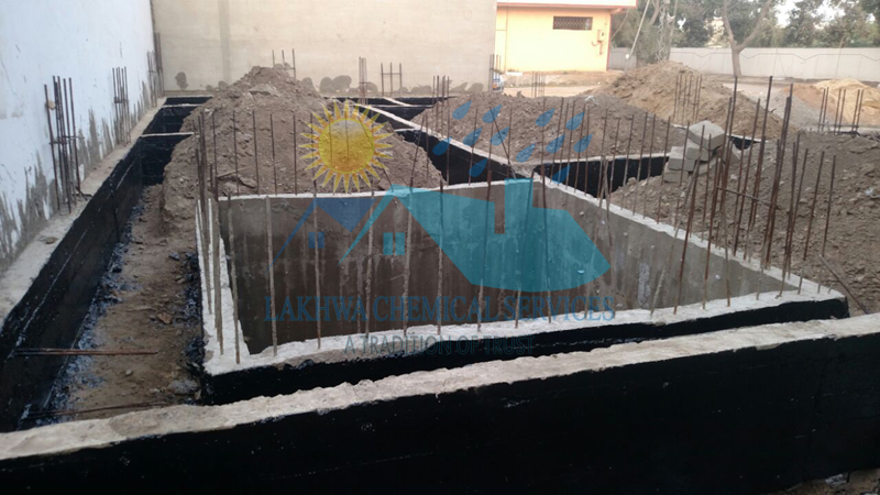 foundation waterproofing   LCS Waterproofing Solutions   lakhwa chemical services