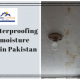 waterproofing in pakistan | waterproofing in karachi | moisture wall mold fix | lakhwa chemical services