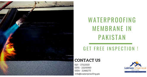 Waterproofing membrane in Pakistan | leakage and seepage in Karachi | Lakhwa Chemical Service