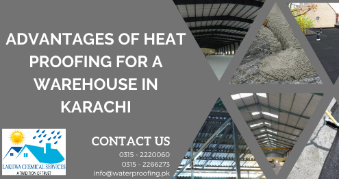 Roof heat proofing in Karachi | heat proofing paint in Karachi | Lakhwa Chemical Services