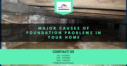 foundation waterproofing in Pakistan | waterproofing company in Pakistan | Lakhwa Chemical Services