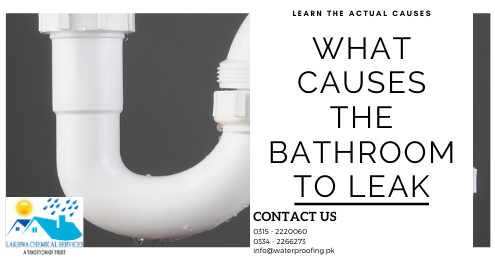 Bathroom leakage and seepage treatment | waterproofing company in Karachi | Lakhwa Chemical Services