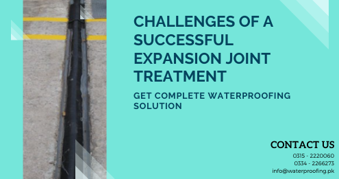 Expansion joint treatment in Karachi | Waterproofing company in Karachi | Lakhwa Chemical Services