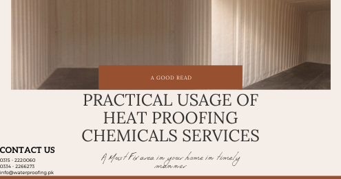 Heat Proofing in Pakistan | heat proofing company in Karachi | Lakhwa Chemical Services