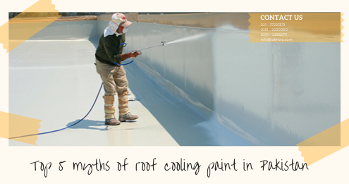 roof cooling paint in Pakistan | roof cool services | roof heat proofing | heat insulation coating for roof | cool roof tiles price in pakistan | lcs waterprofing solution | lakhwa chemical services