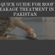 roof leakage treatment in pakistan | roof leakage solution in pakistan | roof leakage solution in karachi | roof waterproofing | waterproofing chemical price in pakistan | lcs waterproofing solutions