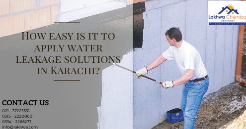 water leakage solutions in Karachi | leakage and seepage in karachi | bathroom leakage chemical | bathroom leakage repair in lahore | bathroom seepage solution | lakhwa chemical services
