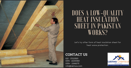 heat insulation sheet in pakistan | heat insulation tiles in pakistan | heat insulation sheet for roof | heat insulation for roof | thermopore sheet for roof | lcs waterproofing solutions | lakhwa chemical services