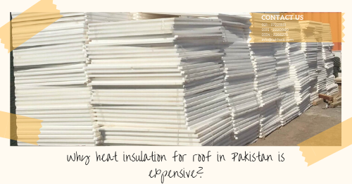 heat insulation for roof in Pakistan | thermopore sheet for roof | isothane paint | roof insulation | thermal insulation | lcs waterproofing solutions | lakhwa chemical services