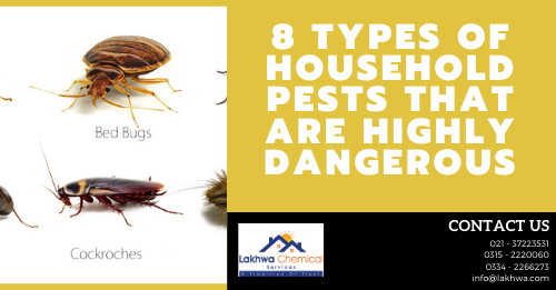 types of household pests | household pest control | list of household pests and diseases caused by them | types of pests | household pest pdf | lcs waterproofing solutions