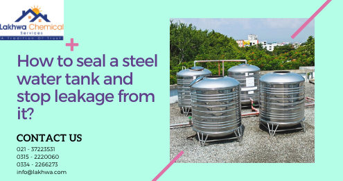 How to seal a steel water tank | steel water tank repair kit | metal water tank sealer | stainless steel water tank leak repair | water tank sealant | lcs waterproofing solutions
