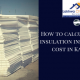 roof insulation installation cost | cost to install insulation batts | roof insulation replacement cost | insulation cost per sqm | insulation costs per square metre | lcs waterproofing solutions